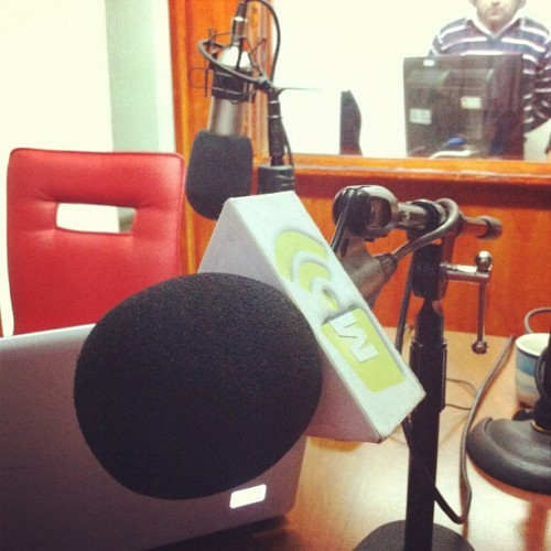 En minutos por @radiomaderofm en el #chileanway 102.5fm (Tomada con Instagram)