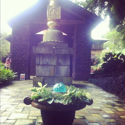 Taken with Instagram at Kauai Hindu Monastery