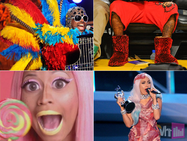 Those zebra Uggs are pretty inexcusable. The Top 10 Weirdos In Music (And Why We Love Them For It) [Tuner]