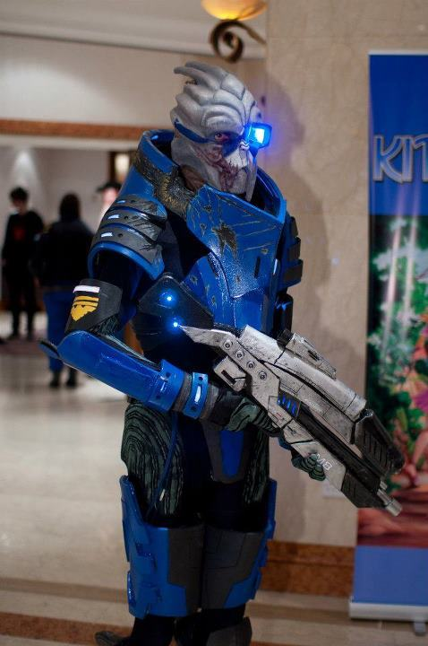 Garrus Vakarian v1 at Kitacon (I totally want to start on v2 soon)Photo by Gordon Harper