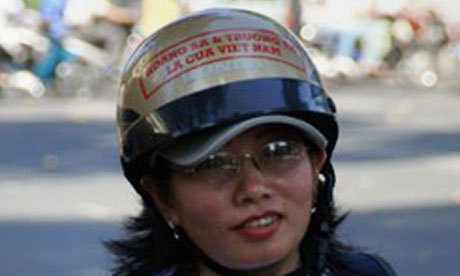 "Vietnamese blogger's mother sets herself on fire as daughter faces trial Mother of Ta Phong Tan, a former police officer who writes about social justice, dies of her injuries in hospital in Ho Chi Minh City The mother of a prominent Vietnamese blogger has died after setting herself on fire as her daughter prepares to go on trial next week. A police officer in the southern province of Bac Lieu said Dang Thi Kim Lieng, 64, died on Monday afternoon on the way to hospital in Ho Chi Minh City after setting herself alight that morning near her home. Phil Robertson, Asia deputy director for Human Rights Watch, said Lieng's death ""points to some very, very serious concerns about the kind of harassment"" that relatives of dissidents face in Vietnam. Her daughter, Ta Phong Tan, is a former police officer who wrote Cong Ly va Su That (Justice and Truth), a blog that addressed social justice issues. She was arrested last September on charges of conducting propaganda against the state. Lawyer Ha Huy Son said Tan and two other bloggers were scheduled to be put on trial in August. All three belong to the outlawed Free Vietnamese Journalists' Club, and stand accused of posting and writing hundreds of articles that ""distorted and opposed"" the communist government. If convicted, the three face up to 20 years in prison. Pictured: Tan Phong Tan, in an image released by the dissident blog Dalambao, which is based outside Vietnam. Photograph: Danlambao/AFP/Getty Images"