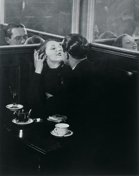 Brassai Lovers in the Bistro