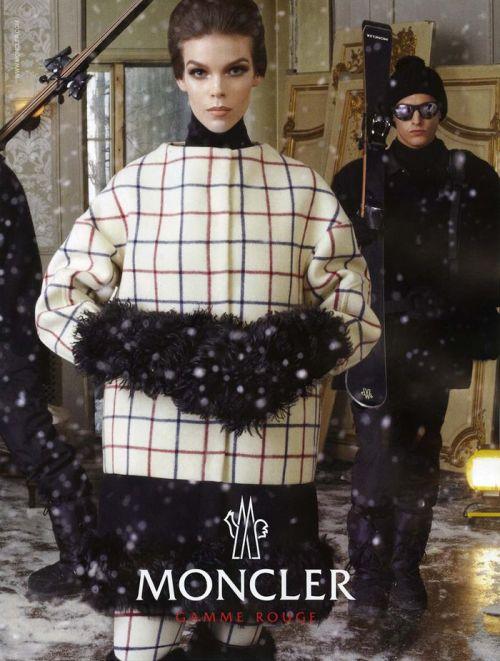 Meghan Collison by Steven Meisel for the Moncler fw12 campaign