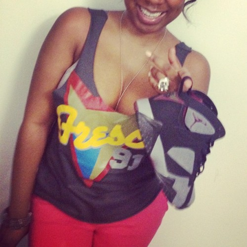 Bordeaux She-Shirt #duggiefresco #airjordan7 #bordeaux #sheshirt (Taken with Instagram)