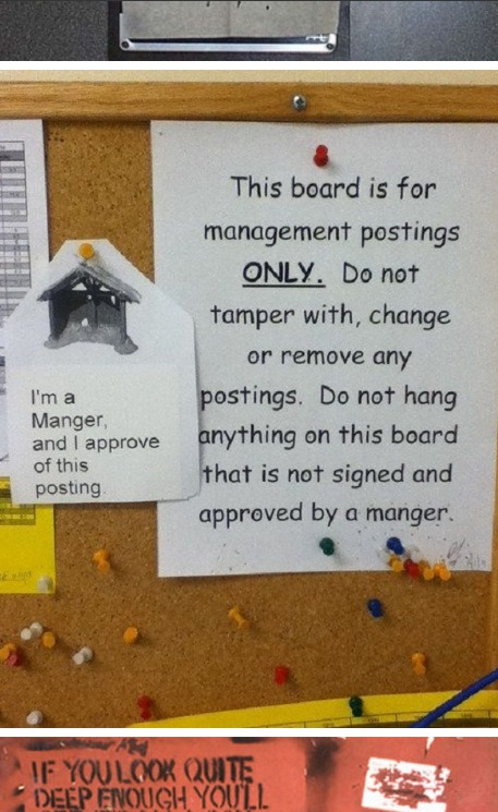 Best noticeboard troll ever.