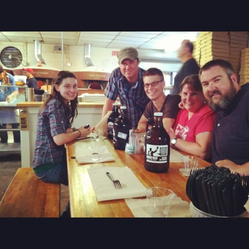 Antico Pizza with @jshferg, @benjablake and my wife. (Taken with Instagram)