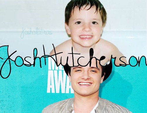 2 - A photo of a celebrity you would marry if you were given the chance  Josh Hutcherson ♥