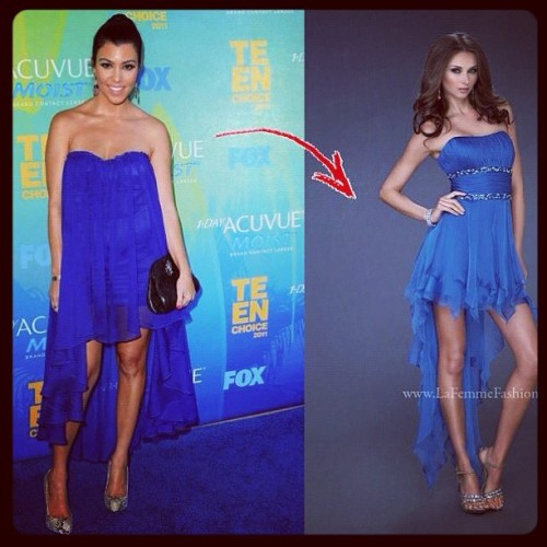 Get kourtneys look from la femme (Taken with Instagram)
