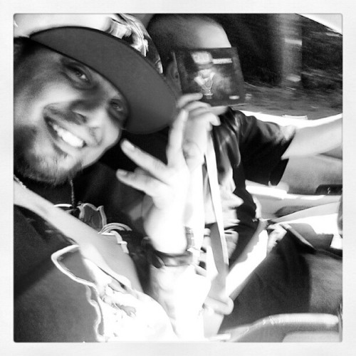 152 Mobbin with my brother @BoyHoodlum  #LITM (Taken with Instagram)