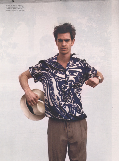 Andrew Garfield by Cass Bird for Nylon Guys, July 2012.