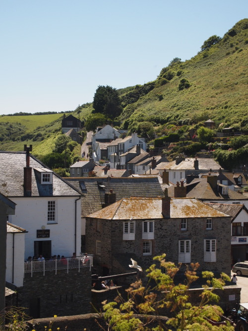 Port Isaac, Cornwall - July 2012.