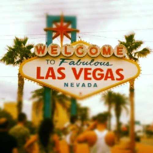 Welcome to Las Vegas (Taken with Instagram)
