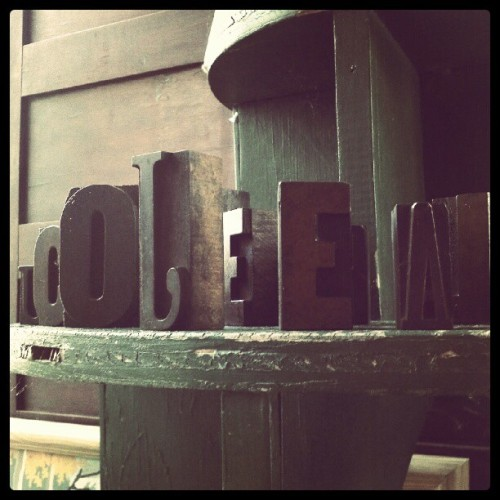 Lovely little letters.