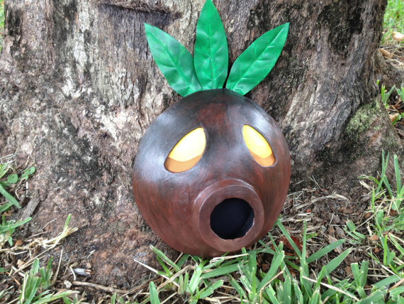 videogamenostalgia:  Wearable Deku Mask!