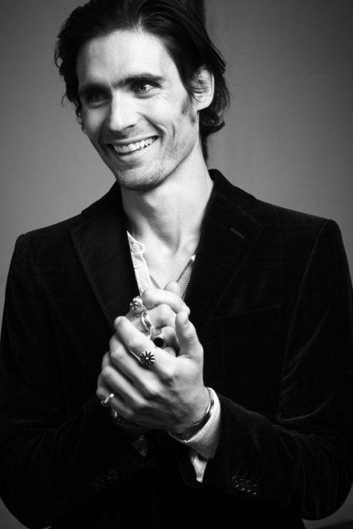 Known to millions as the frontman for The All-American Rejects, rock musician Tyson Ritter shares his soft side with Cotton Candy. Just click the sexy photo loves. CottonCandyMag.com