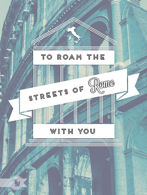visualgraphic:  The streets of Rome