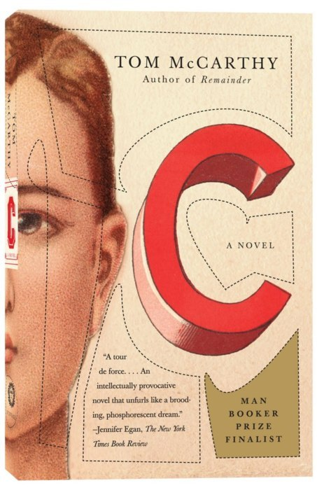 Next on the reading list - C by Tom McCarthy
