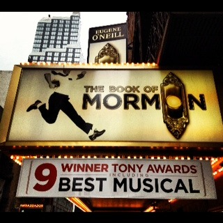 Book of Mormon!!! Honestly so funny!