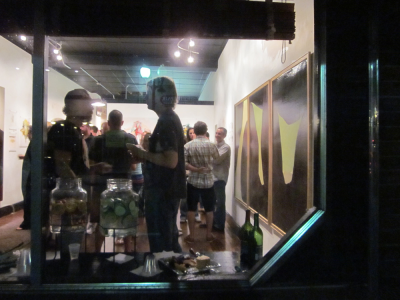The following are photos from my opening at 40 So, July 28th - aug 19.