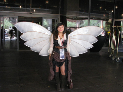 Steampunk wings from Phoenix Comicon 2012 Submitted by Tim