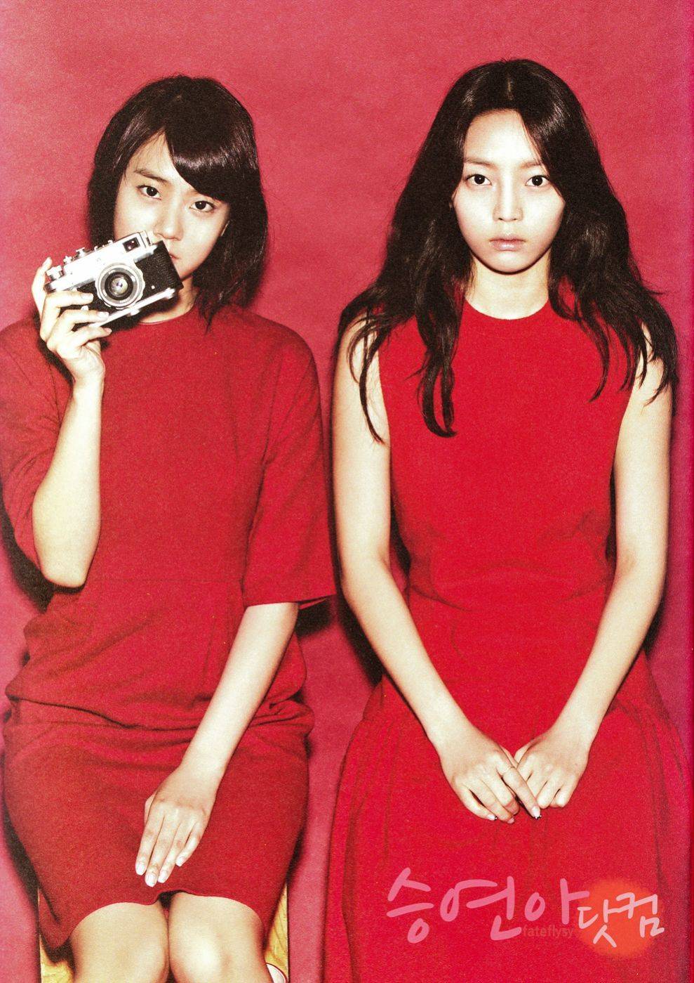 KARA Seung Yeon and Go Hara – Oh Boy! Magazine