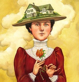 Depiction of Lucy Maud Montgomery