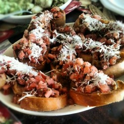 #Food #bruschetta