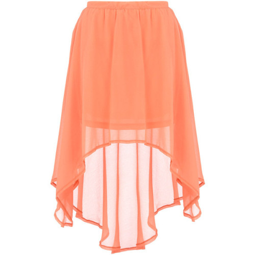 Dorothy Perkins skirt   (see more chiffon skirts)