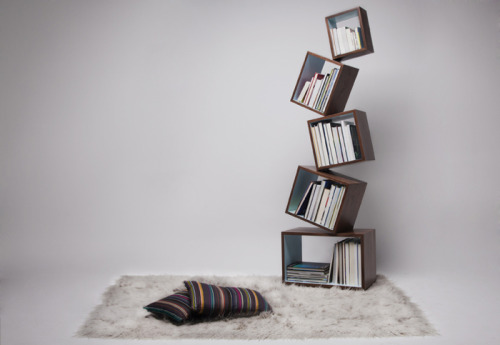 cosascool:  Equilibrium Bookcase by Malagana Design
