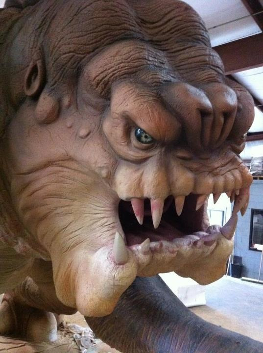 Roxy the Rancor.