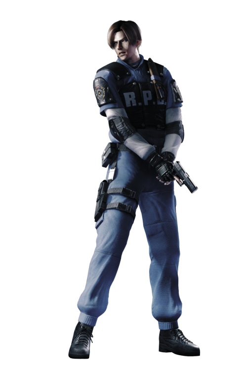 Leon RPD Uniform #2 - Professional Render by ~Allan-Valentine