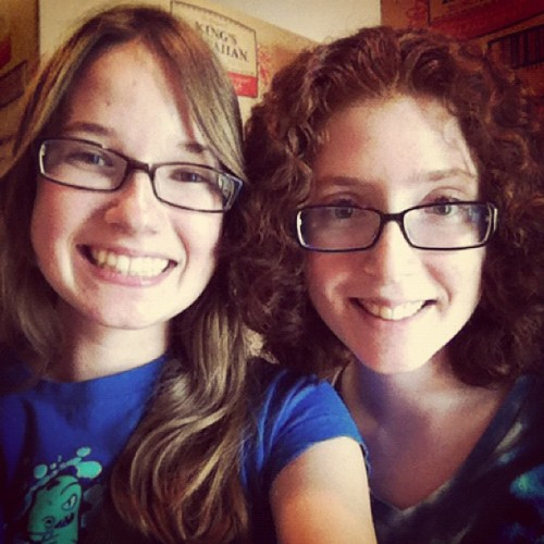 Besfrannnnn is back after being gone for 5 weeks!~ (Taken with Instagram)