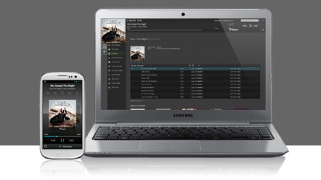 "Samsung Music Hub: Streaming music service hits US ""Samsung on Tuesday announced the immediate availability of Music Hub, the company's new streaming music service for the United States market that wraps iTunes, Spotify and Pandora into one great package. Initially available on the wildly popular Galaxy S III, Samsung's mSpot-powered Music Hub brings a massive catalog of more than 19 million songs to users' Samsung smartphones and to desktop Web browsers…"""