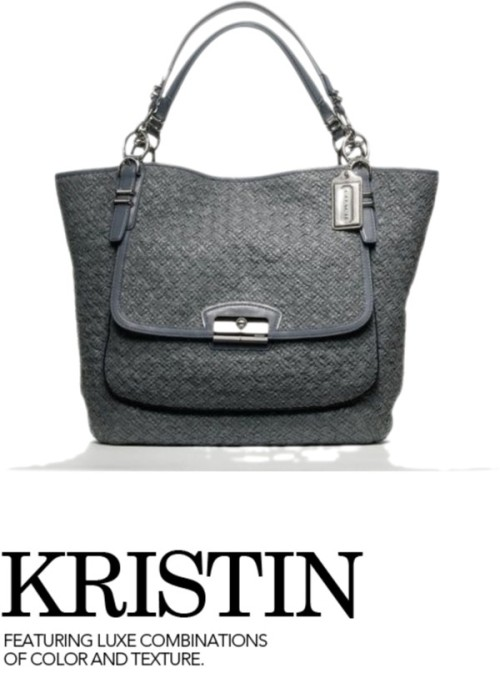 kristin by mademoisell3mily on polyvore.com[コーチ 限定] [19386] KRISTIN PINNACLE WOVEN LEATHER TOTE - お取り寄せ通販アイテムポスト / Coach :: Kristin Collection