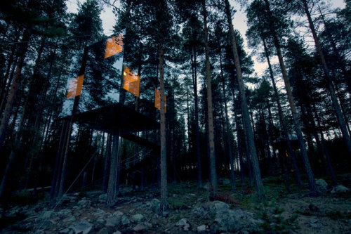 earwegoagain:  Tree Hotel