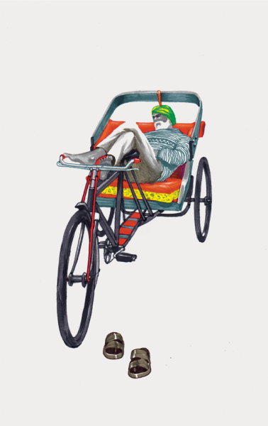 Sameer Kulavoor's illustrations of the bikes of Bombay are really awesome.