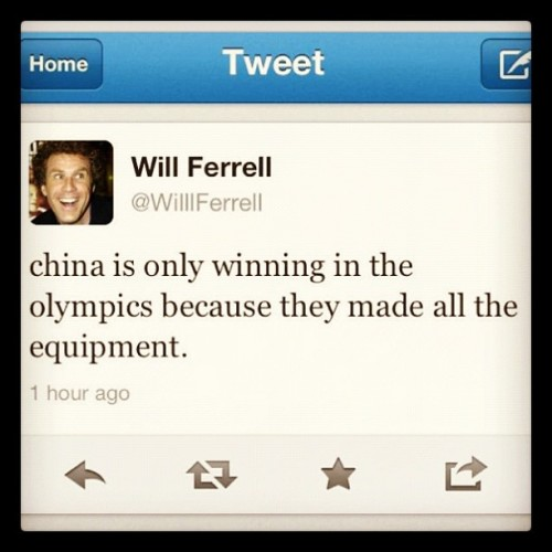 Lol this foo! smh #usa #china #olympics #london (Taken with Instagram)