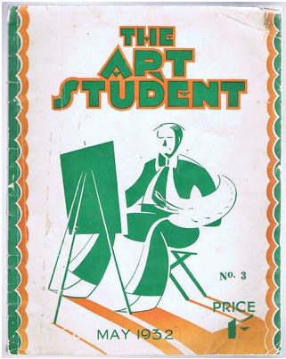 newmanology:  The Art Student, May 1932