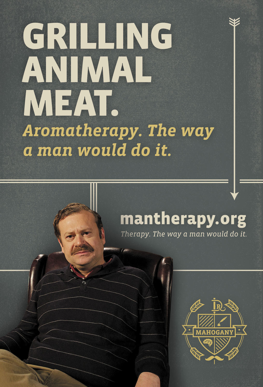 ManTherapy.org: Manly Mental Health Tips, Grill
