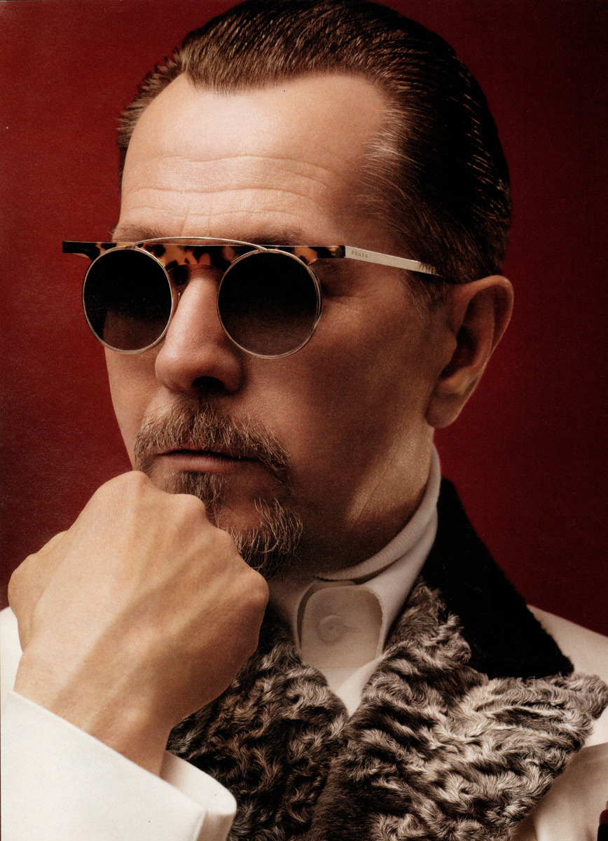 bohemea:  Gary Oldman for Prada Fall/Winter 2012-13 by David Sims