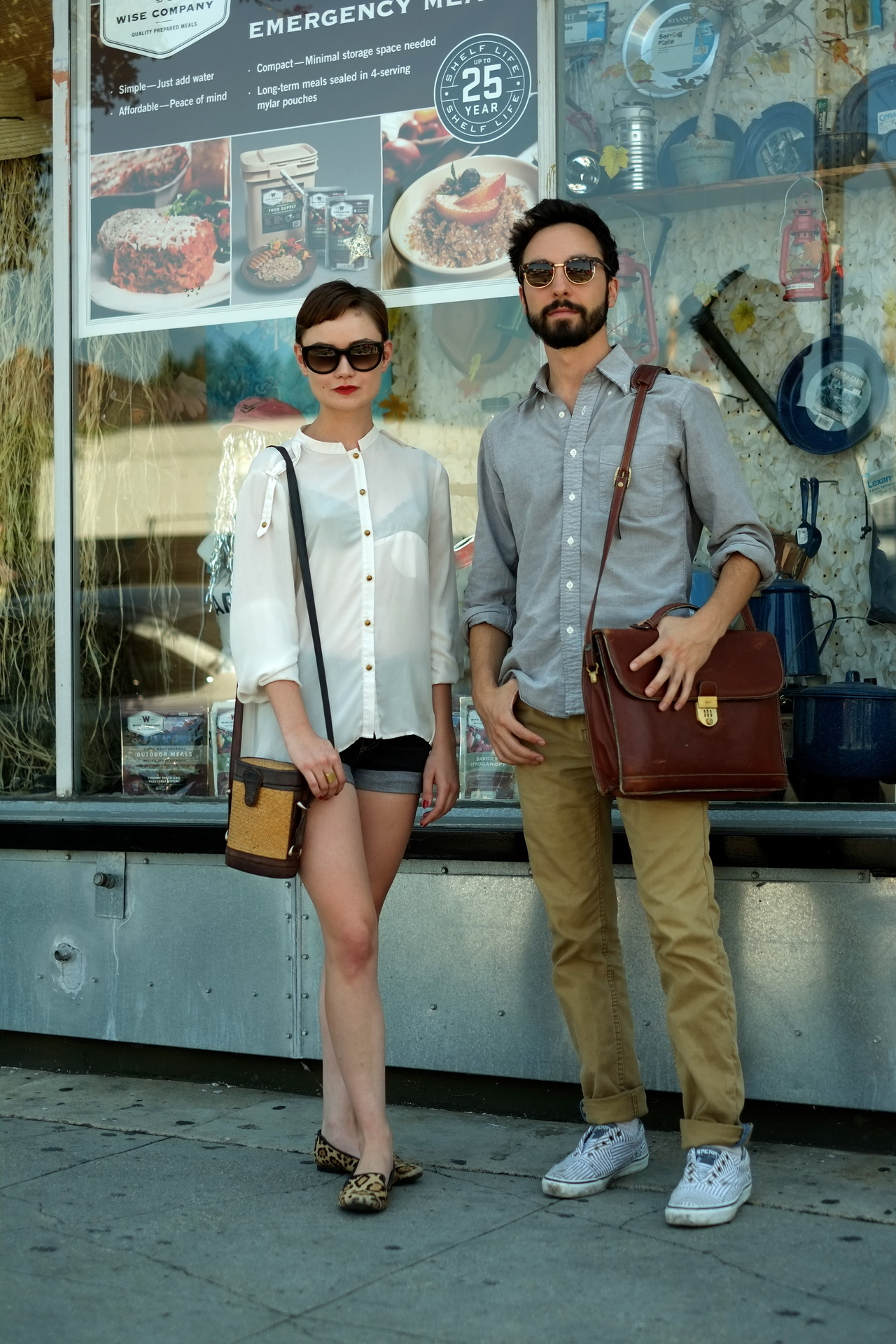 Sasha p. and Jared, Silver Lake. good to be back, on the streets, shooting from the hip, on raw..whatever that means