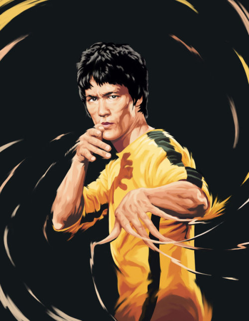 Bruce Lee by himnotep