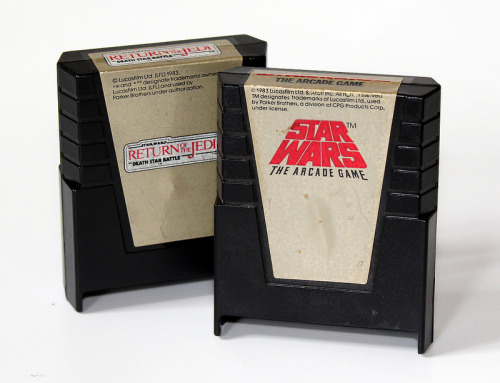 8-bit Star Wars games. Via MattAndKristy (Flickr).