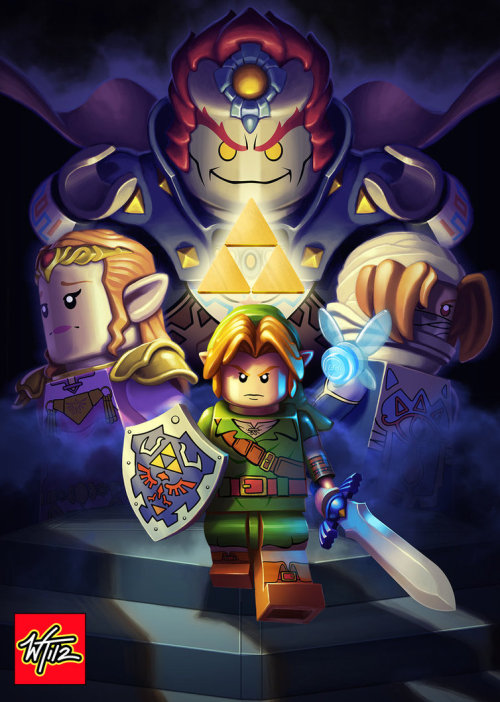 geeksngamers:  Lego: Legend of Zelda - by Wes Talbott
