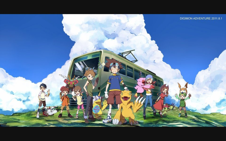 zoneee-digimon:  Digimon Adventure~ 13 años *o*