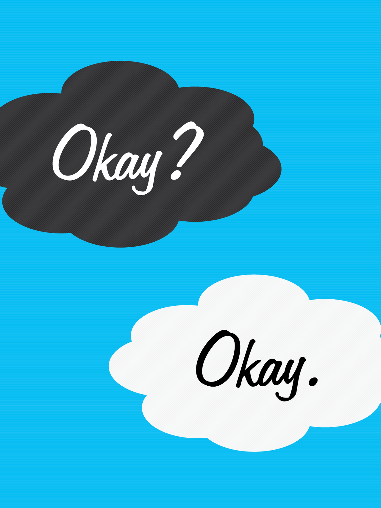 "jdodesign: ""Okay?"" ""Okay."" The Fault in Our..."