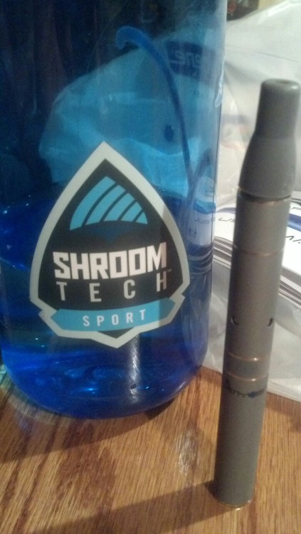 ShroomTech + a new vaporizer = best yoga session ever?