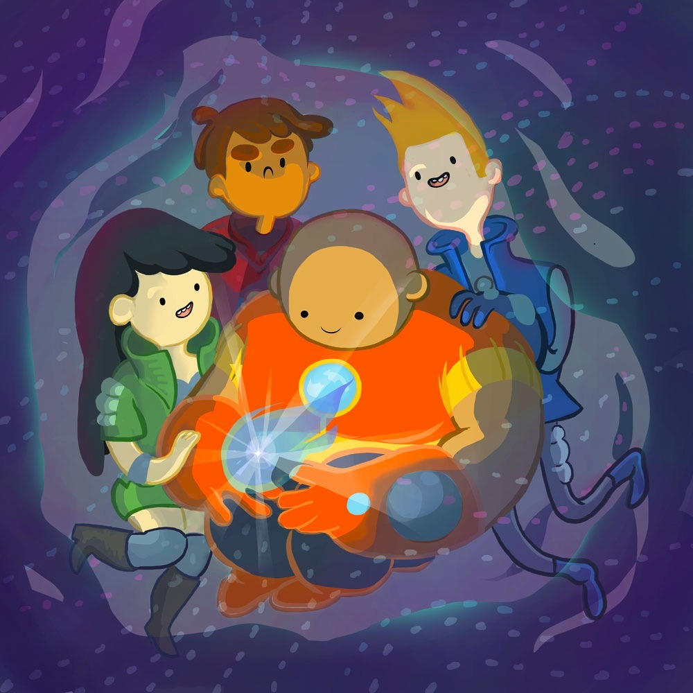 rebekkaillustrates:  The Bravest Warriors are ogglying a baby star.  Enjoy!