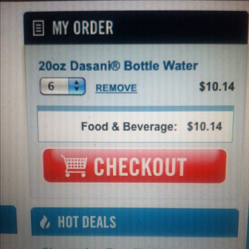 #dominos #thirsty  (Taken with Instagram)