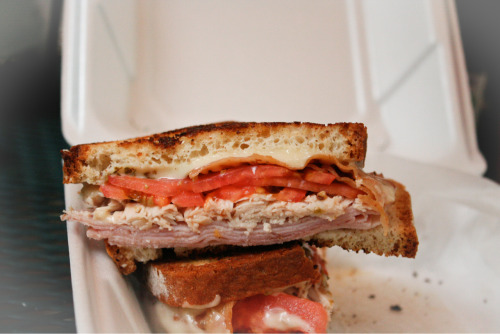 kathyosborne:  Gluten-free deli sandwiches make my heart melt.